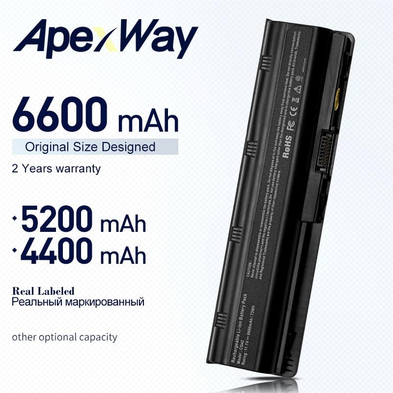 ApexWay laptop Battery for HP 430 431 435 630 631 635 636 650 655 Notebook PC HP630 G32 G72t G56 G62M G62X G7T  G42T Envy 15 17