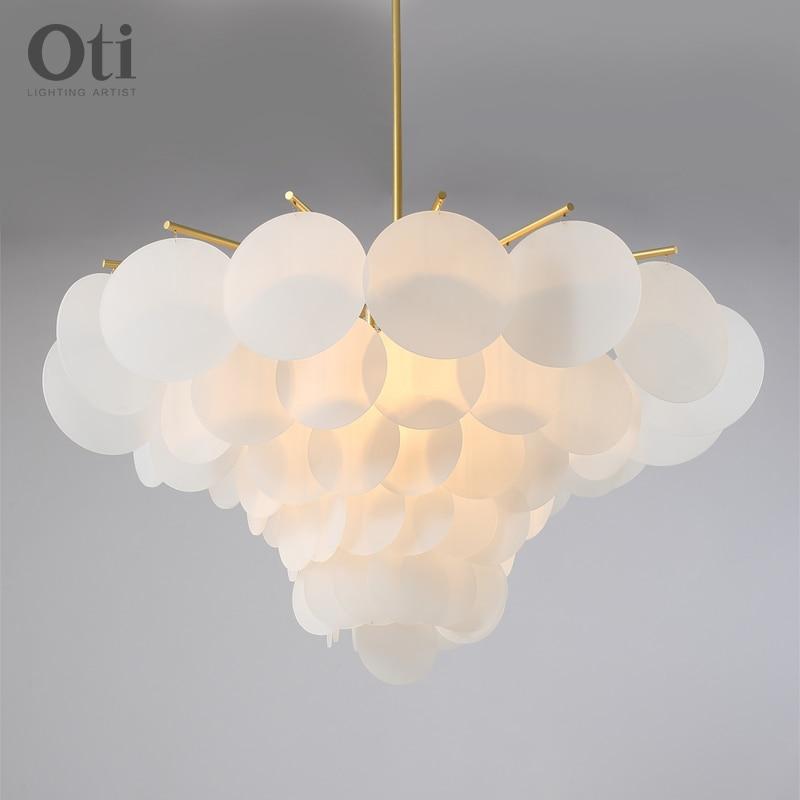 Lámpara colgante moderno de techo de decoración nórdica para ropa y lámpara...