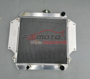 3 Row All Aluminum Radiator For Suzuki Sierra 2Dr SPFTOP / HARDTOP SJ410/413 7/81-3/96 Manual MT
