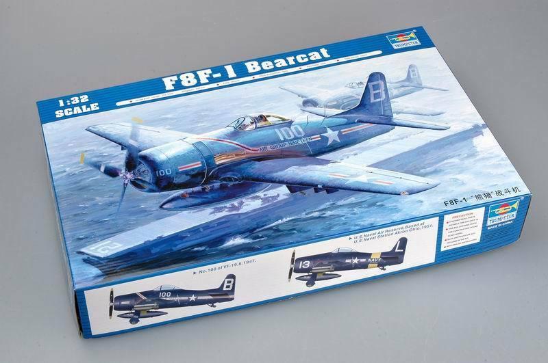 trompetista 02247 1 32 eua aviao f8f 1 bearcat portador borne lutador bombardeiro