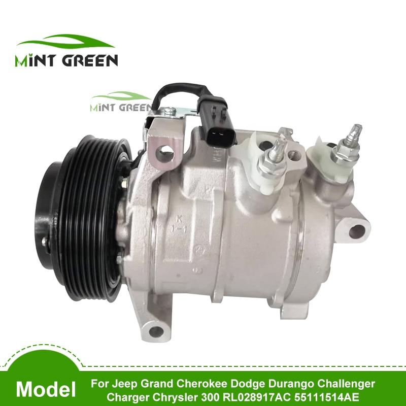 Compresor de CA para Jeep Grand Cherokee Dodge Durango Challenger cargador Chrysler 300 RL028917AC 55111514AE 68028917AB 68028917AC