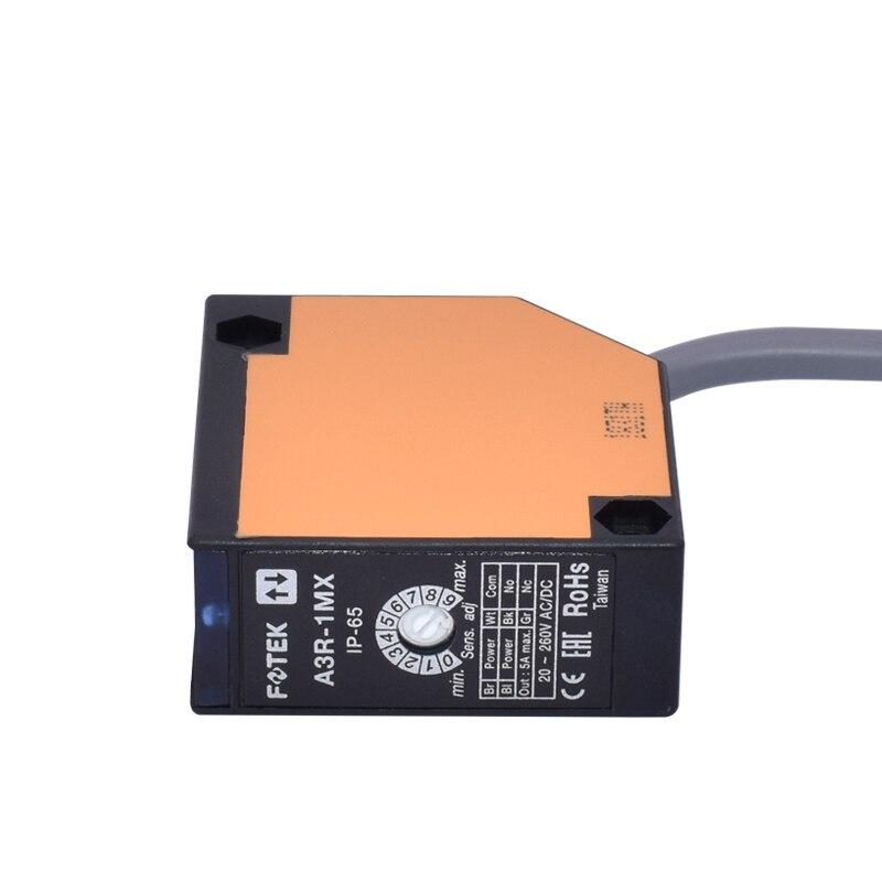 taiwan fotek reflexao difusa interruptor fotoeletrico a3r 1mx sensor fotoeletrico