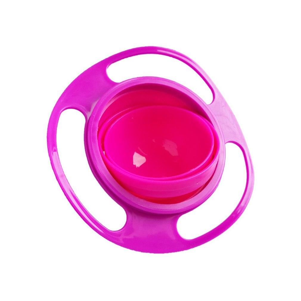Amazon crianças tigela de 360 graus de rotação balanceamento tigela giroscópio tigela ufo tigela do bebê não caindo tigela