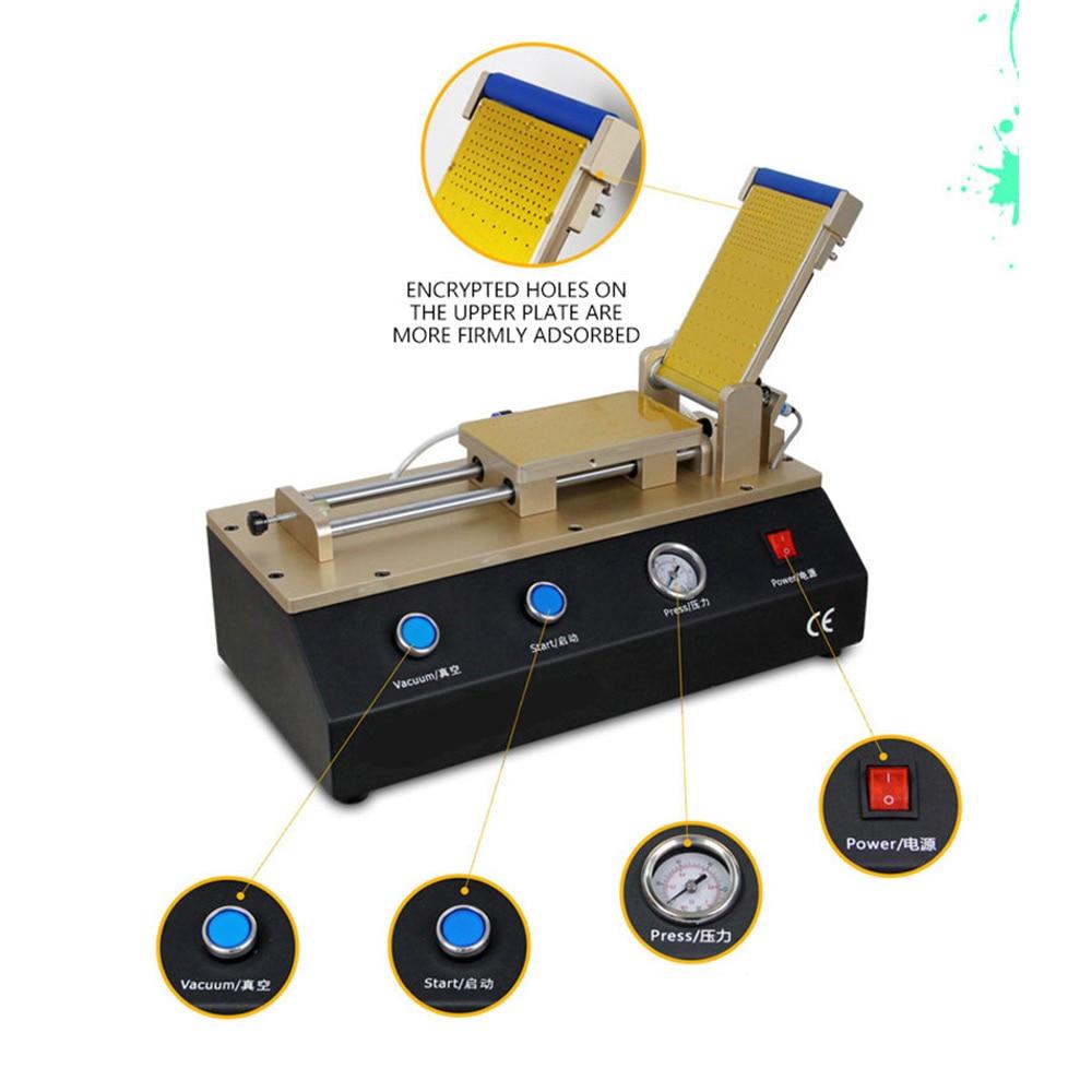 3 in 1 automatic laminating machine, OCA dry glue laminating machine, press screen machine, burst screen repair