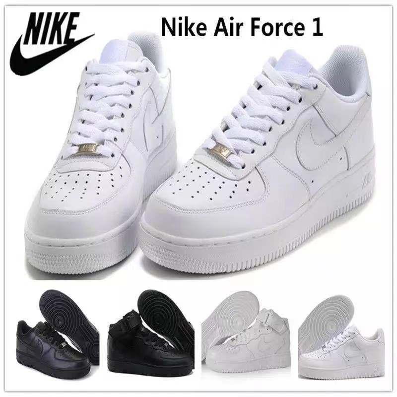 Shadow Leather Men High Flat Skateboarding Shoes Triple White Black Low Sports Sneakers women Eur 35-45