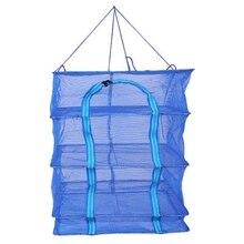 45 Folding und Trocknen Käfig Platz Verdickt Trocknen Fisch Net