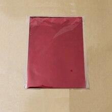 50 шт., смешанный цвет, горячее тиснение, фольга, бумажный ламинатор, переводится на элегантный лазерный принтер, горячее нажатие, крафт-бумаг...
