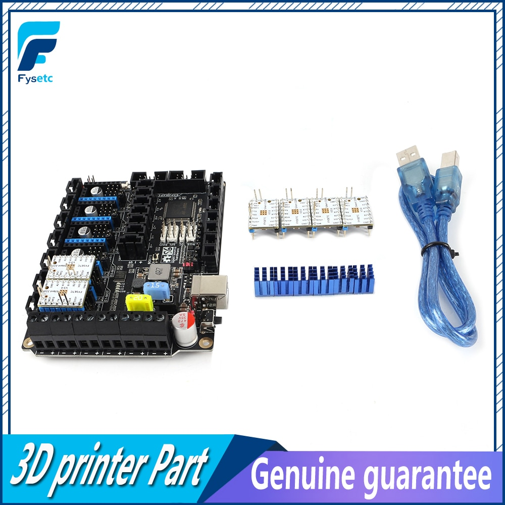 Placa de Control de 32 bits S6 V1.2 con 6 uds TMC2209 V3.0 controlador de Motor paso a paso Uart Flying Wire MX conector VS F6 V1.3 SKR V1.3