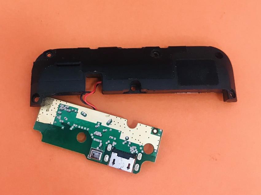 Placa del cargador USB Original usada + altavoz potente para HOMTOM S99 MTK6750T Octa sin núcleo