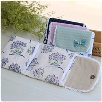 new foldable sanitary pad pouch flower pattern organizer purse for napkin towel storage bags cosmetic bag for makeup