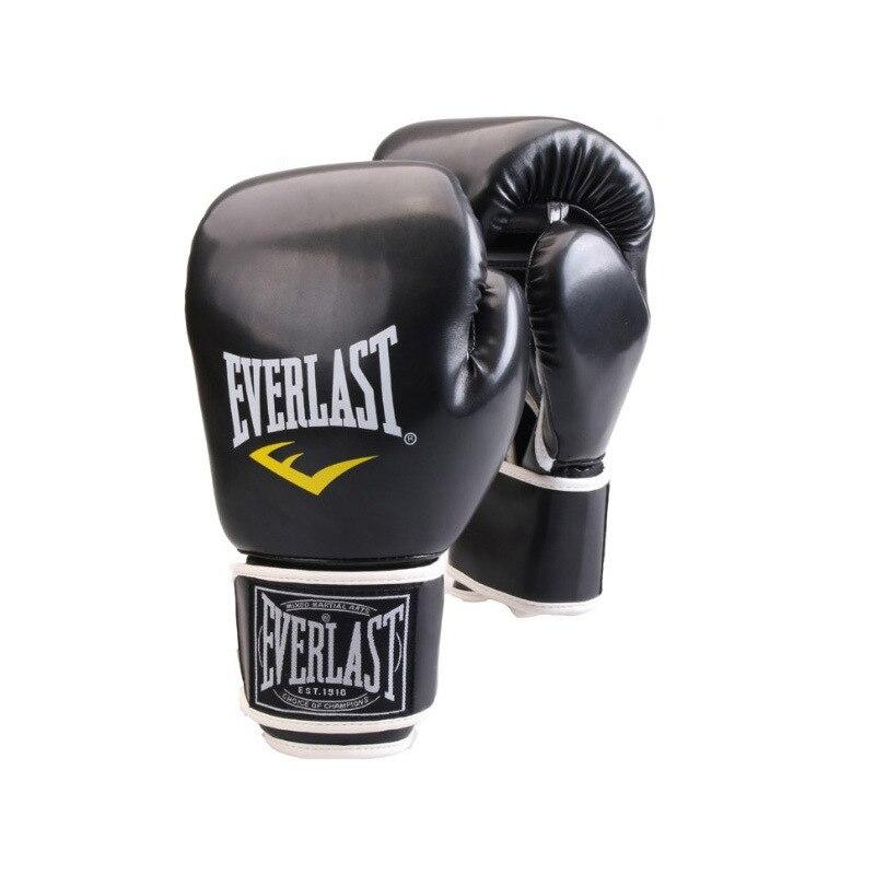 MMA قفازات ملاكمة الملاكمة التايلاندية PU الرجال الكفوف الطفل القتال ساندا كيك بوكسينغ معدات Boxeo الملاكمة التدريب الملاكم قفازات 6 12oz