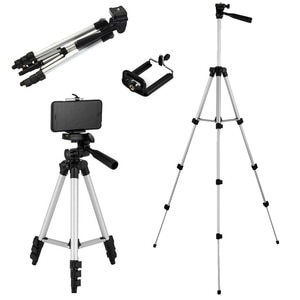 Portable Foldable Camera Tripod With 360-Degree Rotating Bracket Suitable For Mobile Phones SLR Cameras Multi-Function Tripods