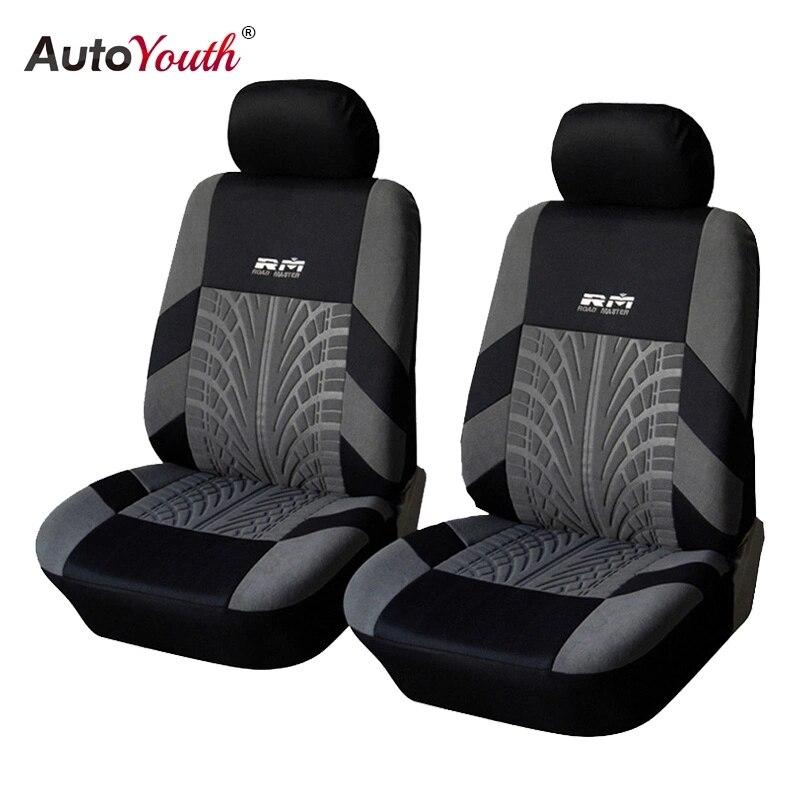 Автомобильные чехлы AUTOYOUTH, универсальные чехлы на передние сиденья, 2 шт.