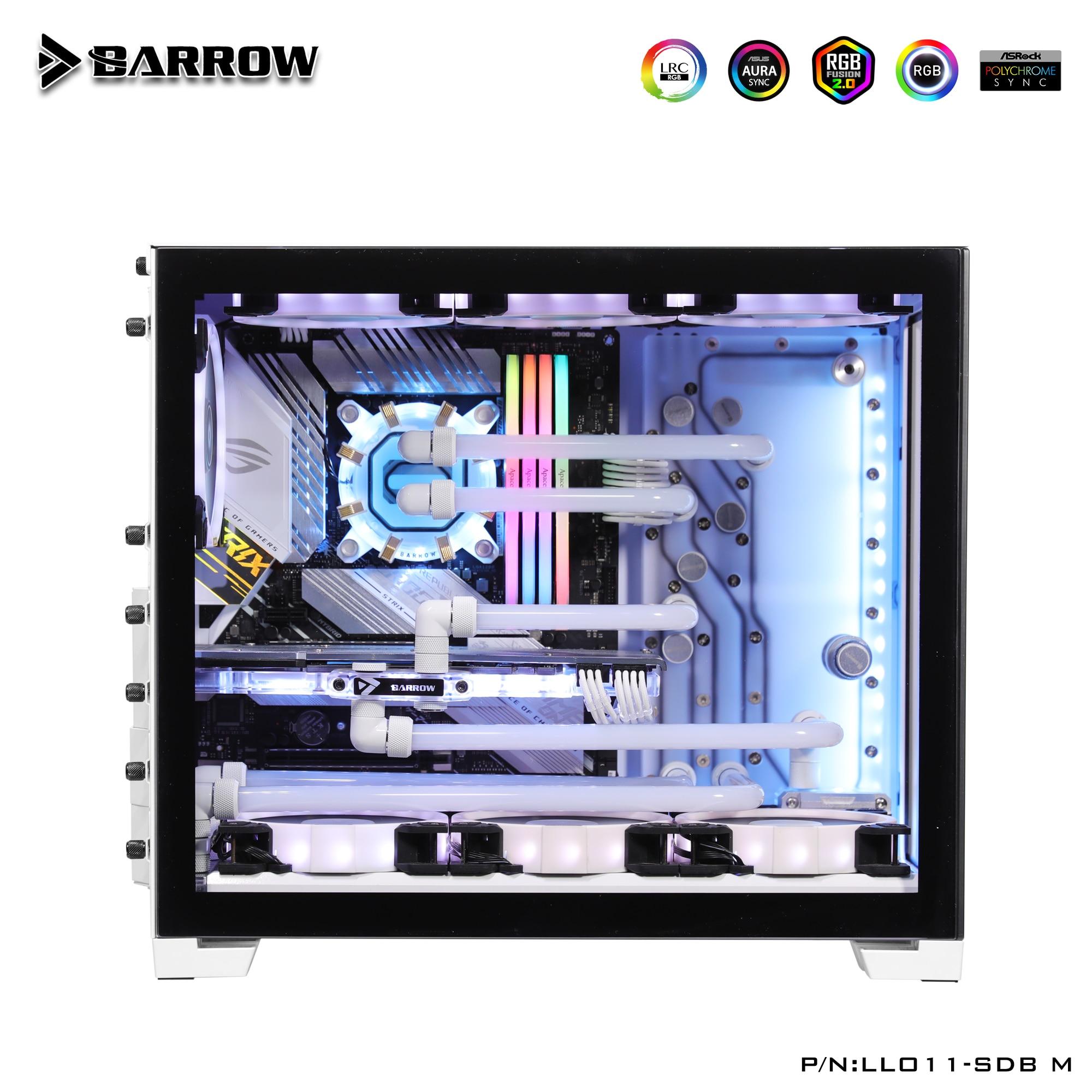 بارو LLO11-SDB م ، لوحات الممر المائي لليان لي O11 حافظة صغيرة ، متوافق مع مضخة 18 واط/D5