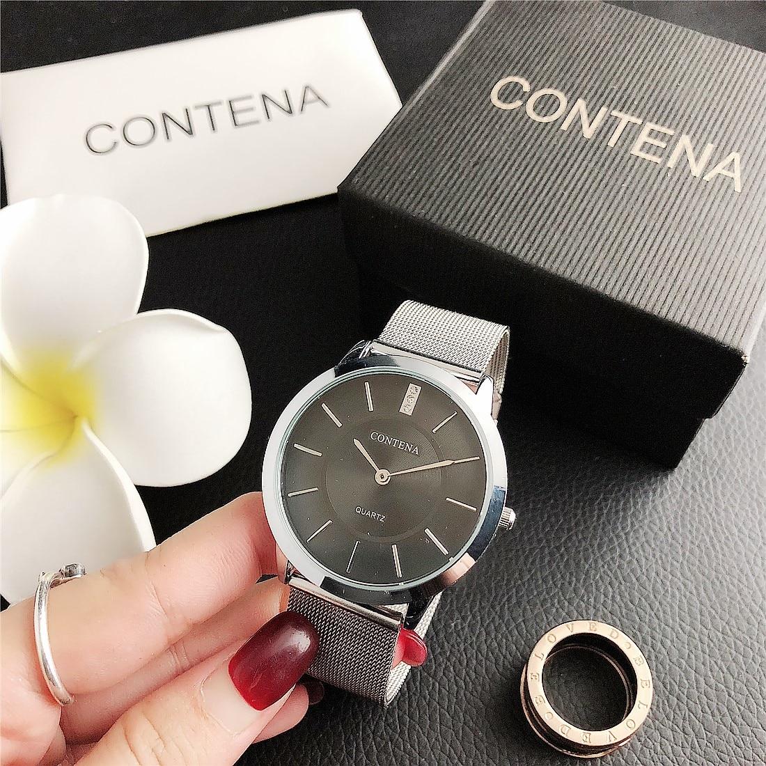 CONTENA Luxury  Nice Quartz Watch 2020 Women Watches  Fashion Ladies Wrist Watch Female Clock Relogio Feminino Montre Femme