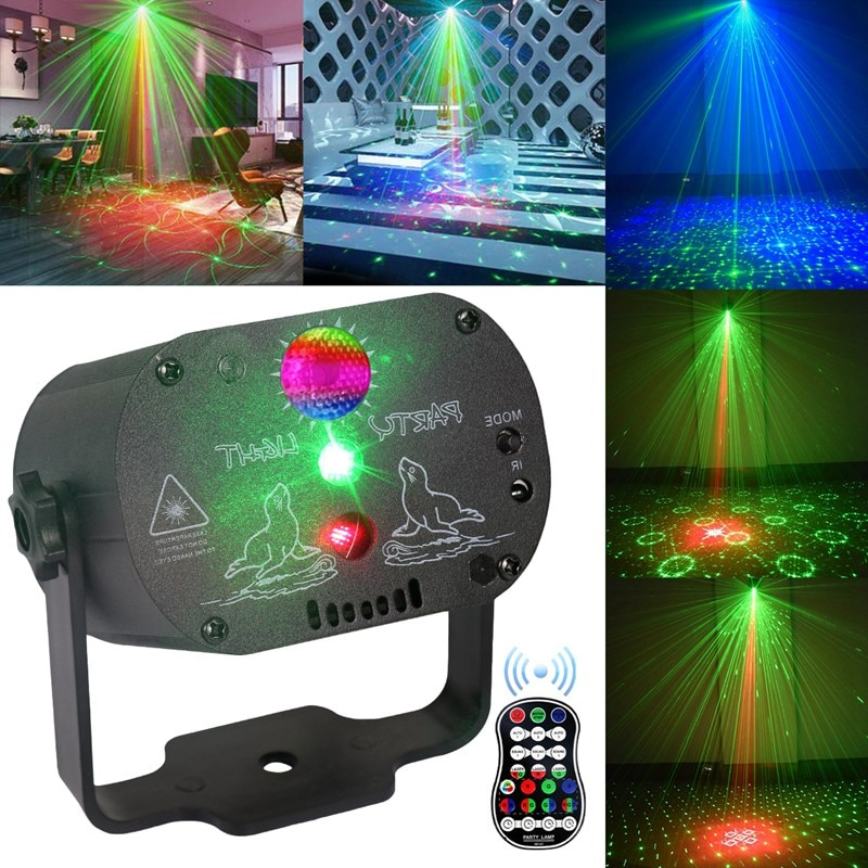 3w usb 5v mini disco ball lamp dj ktv stage light wireless ir remote voice activated lamp home party dance floor rgb light show Mini RGB Disco Light DJ LED Laser Stage Projector Light for Dance Floor USB Rechargeable Lamp Wedding Birthday Party DJ Lamp