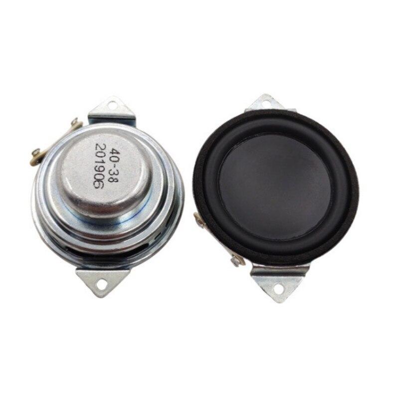 SOTAMIA 2 uds 40mm Mini altavoz de rango completo 4 Ohm 3W altavoz magnético interior fibra de vidrio Altavoz Bluetooth al aire libre impermeable