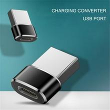 Aluminum Alloy USB to Type C Adapter Fast Charging Converter for Laptop PC Computer for xiaomi huawe