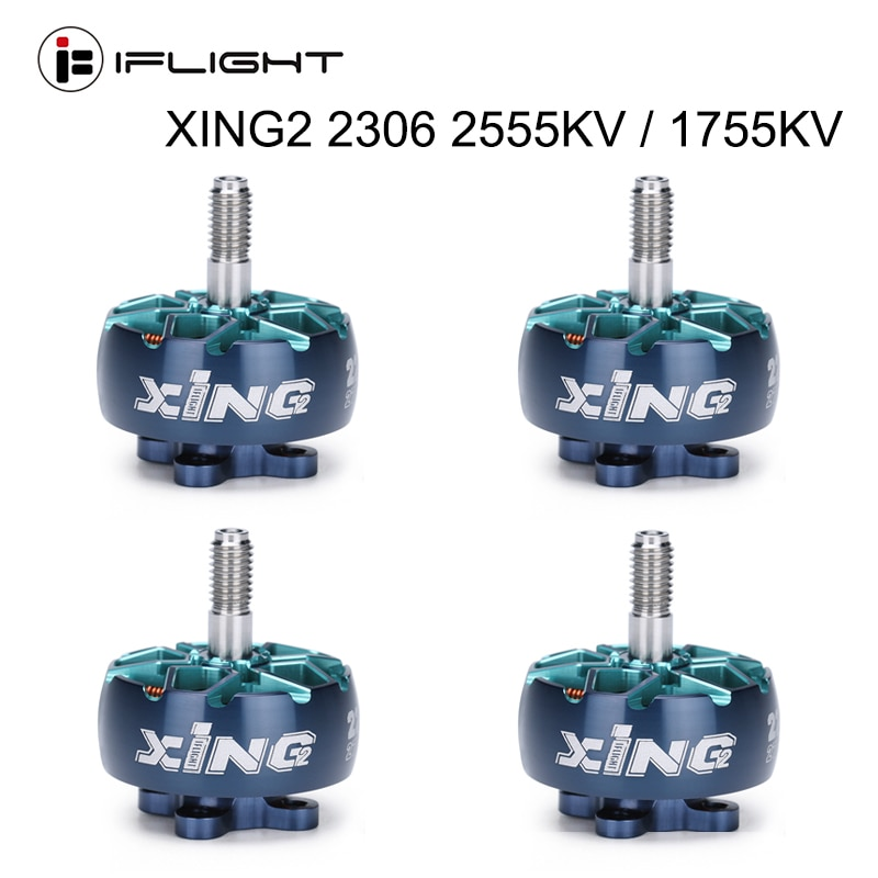 IFlight-محرك بدون فرش XING2 2306 2555KV / 1755KV 4S-6S FPV ، مروحة 5 بوصة ، جزء سباق FPV بدون طيار