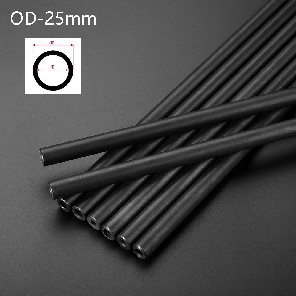 O/D 25mm Explorsion Proof Hydraulic Tube Seamless Steel Pipe High Pressure Structural Home DIY Tool Parts