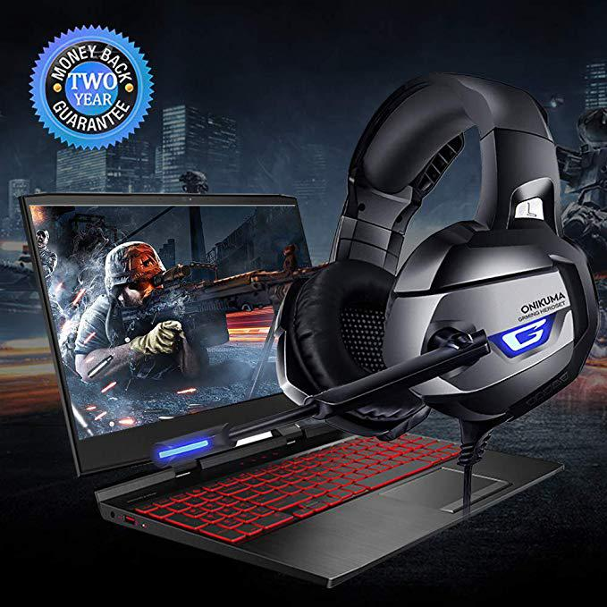 Gaming Headsets Wired Headphones Stereo Earphones With Noise Cancelling Microphone for PS4 Xbox One Gamer Headset enlarge