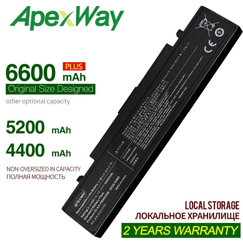 ApexWay batería del ordenador portátil para SamSung R428 AA-PB9NC6B AA-PB9NS6B AA-PB9NC6W AA-PL9NC6W R429 R468 NP300 NP350 RV410 RV509 R530 R580