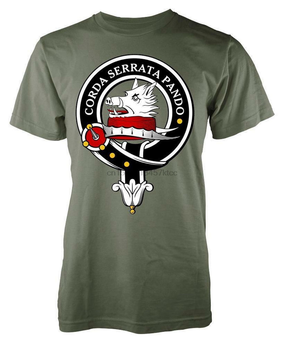 BNWT LOCKHART шотландский клан Шотландка Шотландия семья имя взрослый Топы Футболка S-XXL по индивидуальному заказу футболка с круглым вырезом