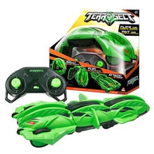 2020 New Transforming Car Vehicle Green TerraSect 2.4GHZ Radio Remote Control Electric Roll Flip Def
