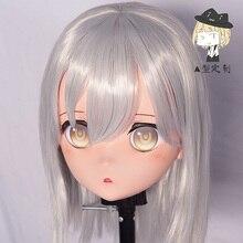 (A1-7) personnalisé femme/fille résine Cosplay japonais jeu de rôle Anime personnage Kigurumi masque avec coque arrière crosscommode poupée
