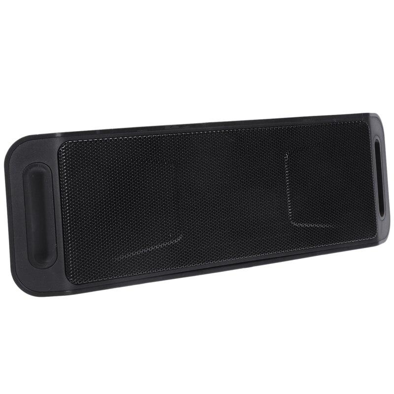 SC208 Altavoz Bluetooth inalámbrico teléfono móvil manos libres Subwoofer TF tarjeta doble altavoz portátil o Video