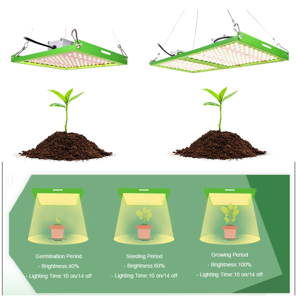 CXST Samsung Diodes Led Grow Light Full Spectrum T600 Growbox High PPFD Growing Lamp for Plants Greenhouse Hydroponic Tent enlarge