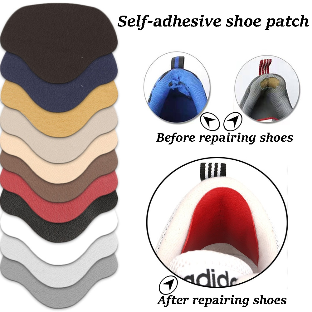 Sneakers Insoles Heel Repair Subsidy Viscose Shoe Hole Shoemaker Stickers for Shoes Sports Lining Sticky  Anti-Wear