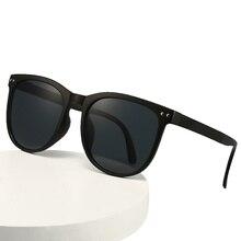 LONSY Retro Brand Round Sunglasses Men Women Driver Shades Male Classic Vintage Sun Glasses Female O