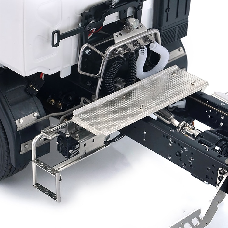 For Tamiya tractor Volvo car suitable for 1/14 truck G-6150 car pedal metal durable retrofit DIY model enlarge