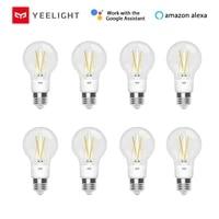 Yeelight     ampoule LED E27 6W a Filament WIFI  700lm  domotique intelligente  pour Mijia Homekit  SmartThings  IFTTT  Alexa  Google Home