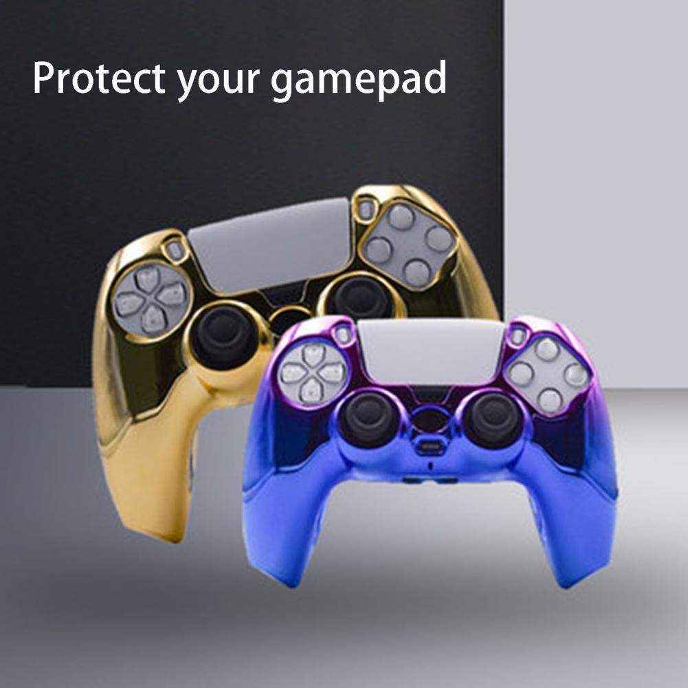 Полная защита, защитная крышка, Гибкий контроллер, защитный чехол для геймпада, Сменный Чехол, игровые аксессуары для PS5