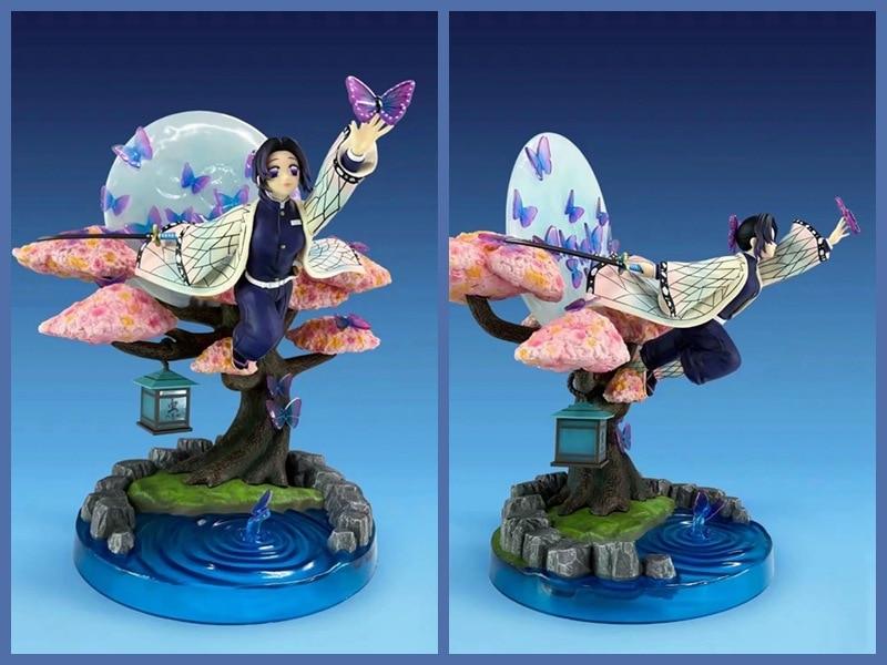 Agatsuma Kochou Shinobu démon tueur Tsuyuri Kanao no Yaiba PVC figurine jouet Anime GK ma fille modèle à collectionner poupée cadeaux