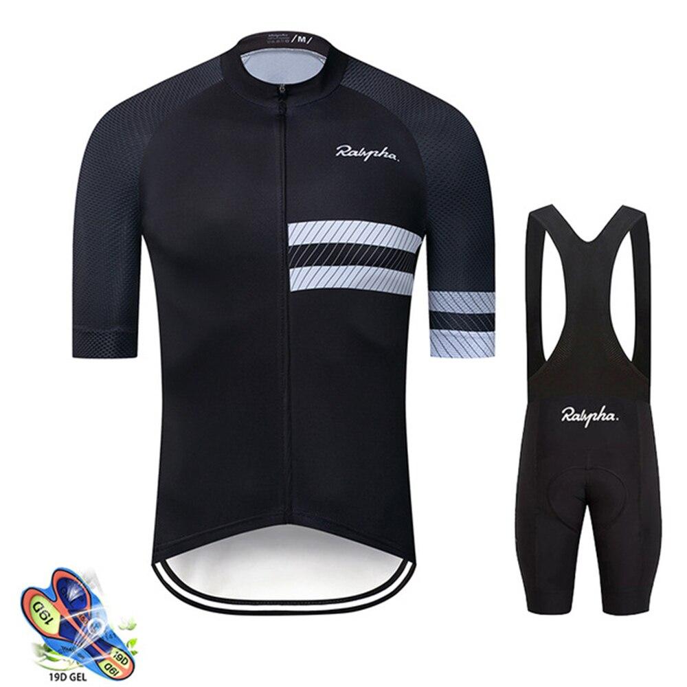 Raphaful Ciclismo ropa 2020 Pro equipo verano secado rápido Ciclismo Jersey conjunto pantalones cortos conjunto transpirable Ciclismo MTB uniforme de bicicleta