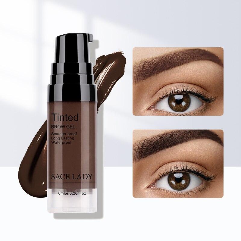AliExpress - SACE LADY Eyebrow Gel Waterproof Long Lasting Tint Makeup Brush Set Brown Enhancer Eye Brow Wax Dye Cream Smooth Paint Cosmetics