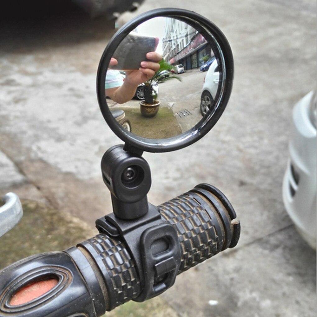 1 Pcs Adjustable Bicycle Rearview Handlebar Mirrors Wide Range MTB Bike Rearview Mirror