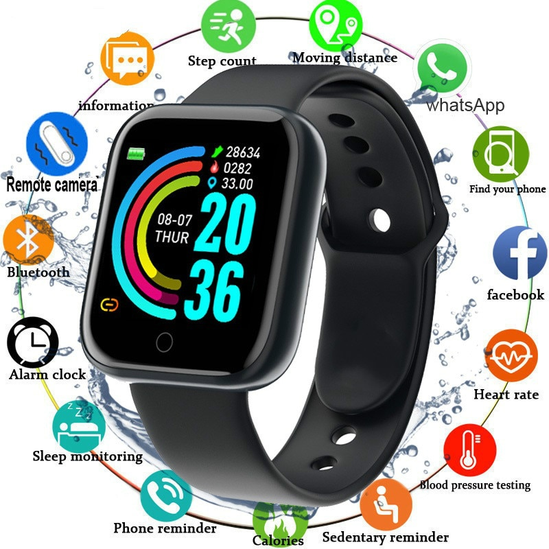 Bluetooth Digital Smart Watches Waterproof Fitness Tracker Heart Rate Monitor Blood Pressure Sport Wrist watch For IOS Android ezon gps watch smart bluetooth optical sensor heart rate monitor digital sport watch for android ios phone men saat reloj hombre