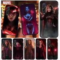 marvel scarlet witch for oppo a12 a1k a11x a12e a31 a32 a52 a53s a53 a72 a73 a92 a93 find x2 x3 2018 2020 lite neo phone case