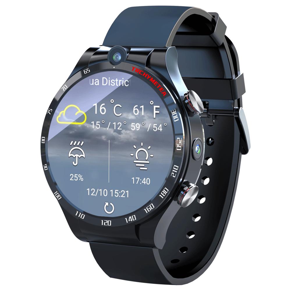 LOKMAT APPLLP4 4G Full Netcom Smart Watch 1.6 inch Smart Watch Phone 4G+128G GPS WIFI Dual Camera Heart Rate Monitor Smartwatch