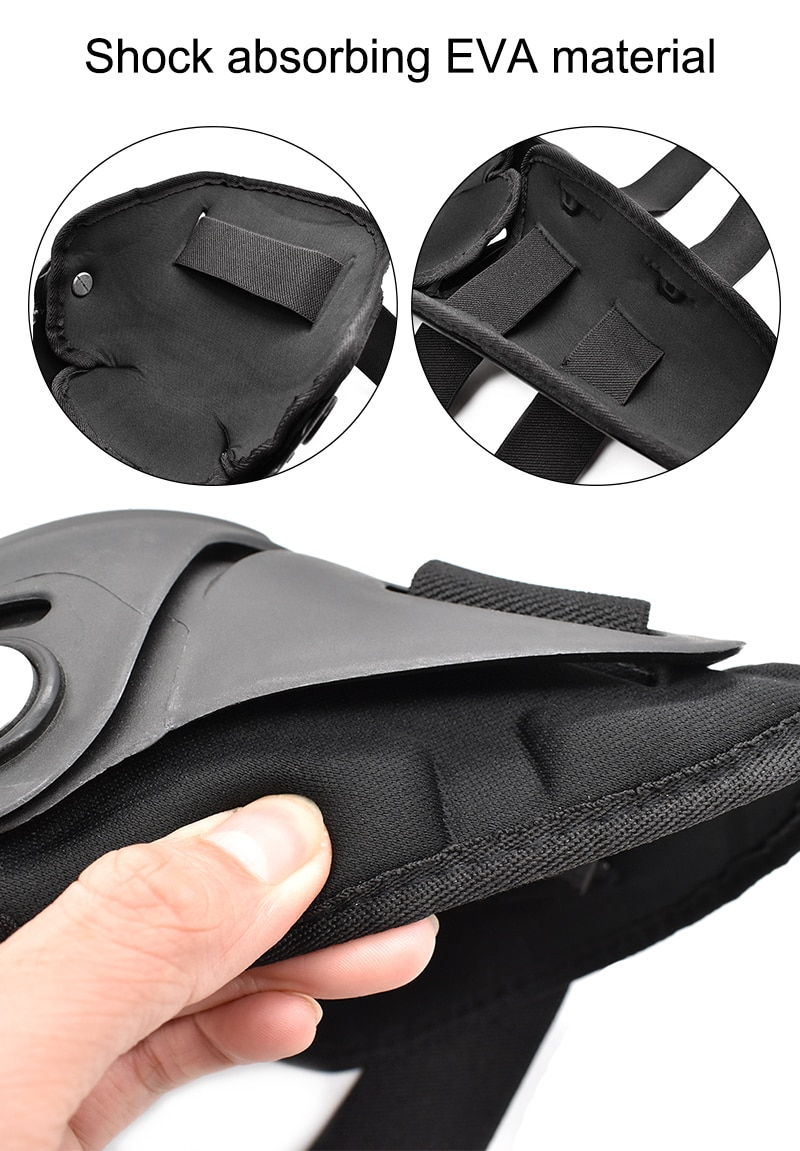 WOSAWE 4pcs Motocross Knee Protector Brace Protection Elbow Pad Kneepad Motorcycle Sports Cycling Guard Protector Guards
