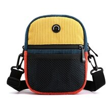 Corduroy Spell Color Fashion Trend Messenger Shoulder Bag Retro Packet Ms. Arts