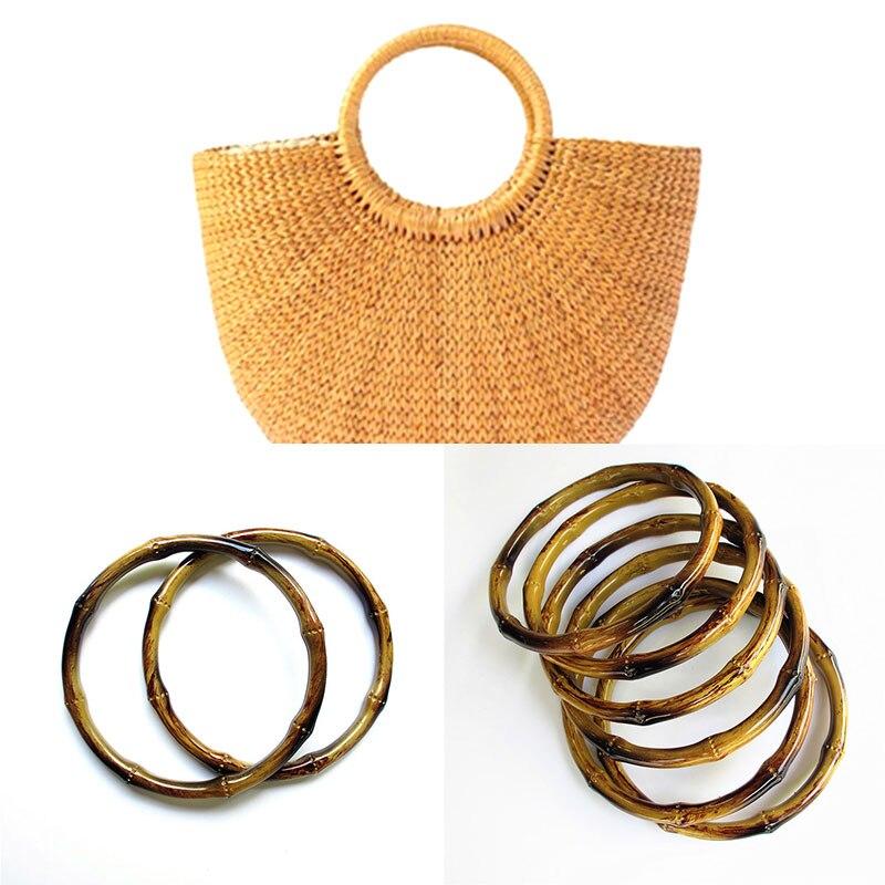 AliExpress - Round Shape Imitate Bamboo Plastic Handle for Handmade Handbag DIY Tote Bag Handles Purse Making Bag Accessories Bag Handles