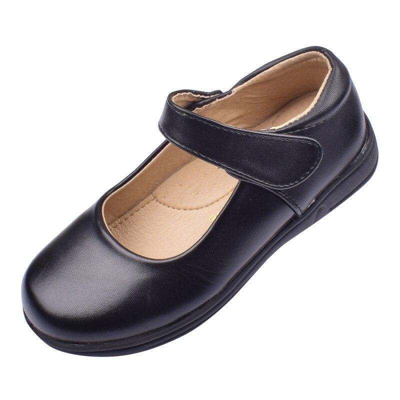 طالب مدرسة حذاء للأطفال أطفال شقة موضة طفل الفتيات الأحذية عالية الجودة الأسود الرقص تظهر الكلاسيكية نمط إنجلترا