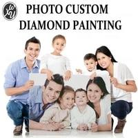 Kits de peinture de diamants personnalises pour adultes  Art de diamant personnalise avec votre Photo  cadeau personnel pour decoration artistique de la maison