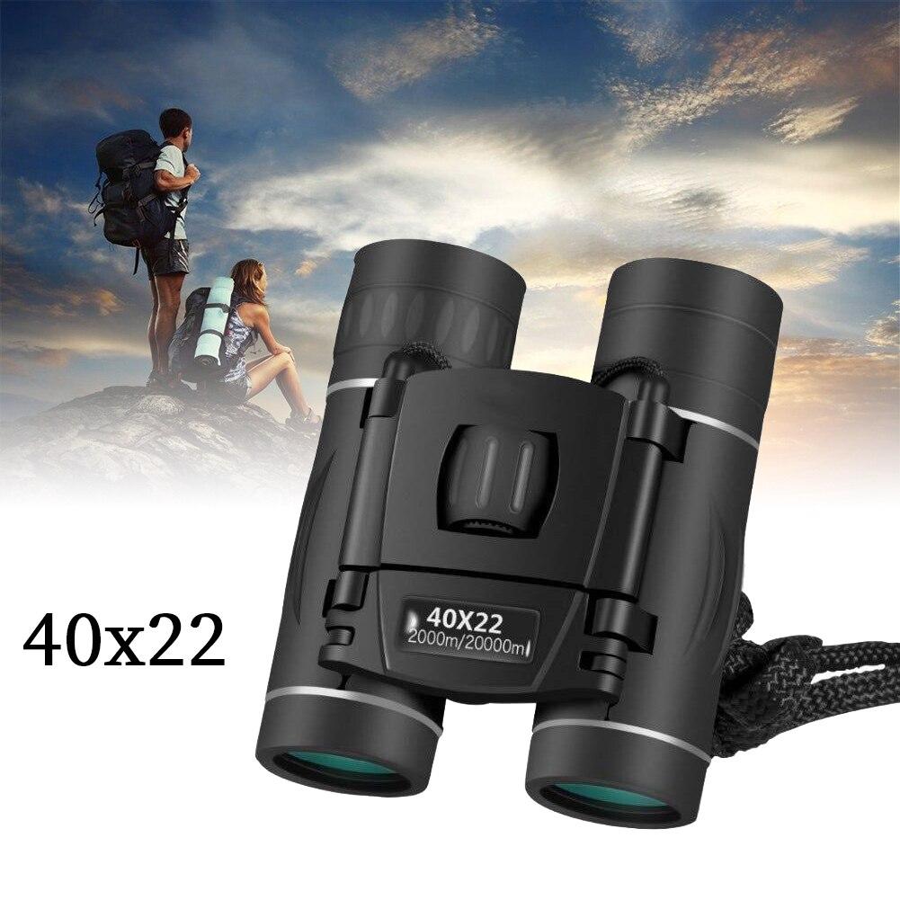 Бинокль 40x22 HD BAK4 FMC, оптический телескоп, складной, дальность 2000 м, для охоты