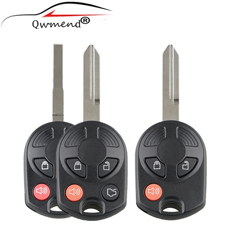 For Ford Car Key 3/4 Buttons 315Mhz Car Remote Key for Ford C-Max Edge Escape Focus Lincoln Mazda Mercury OUCD6000022